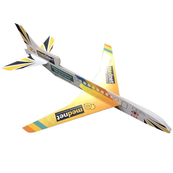 Promotional paper plane
